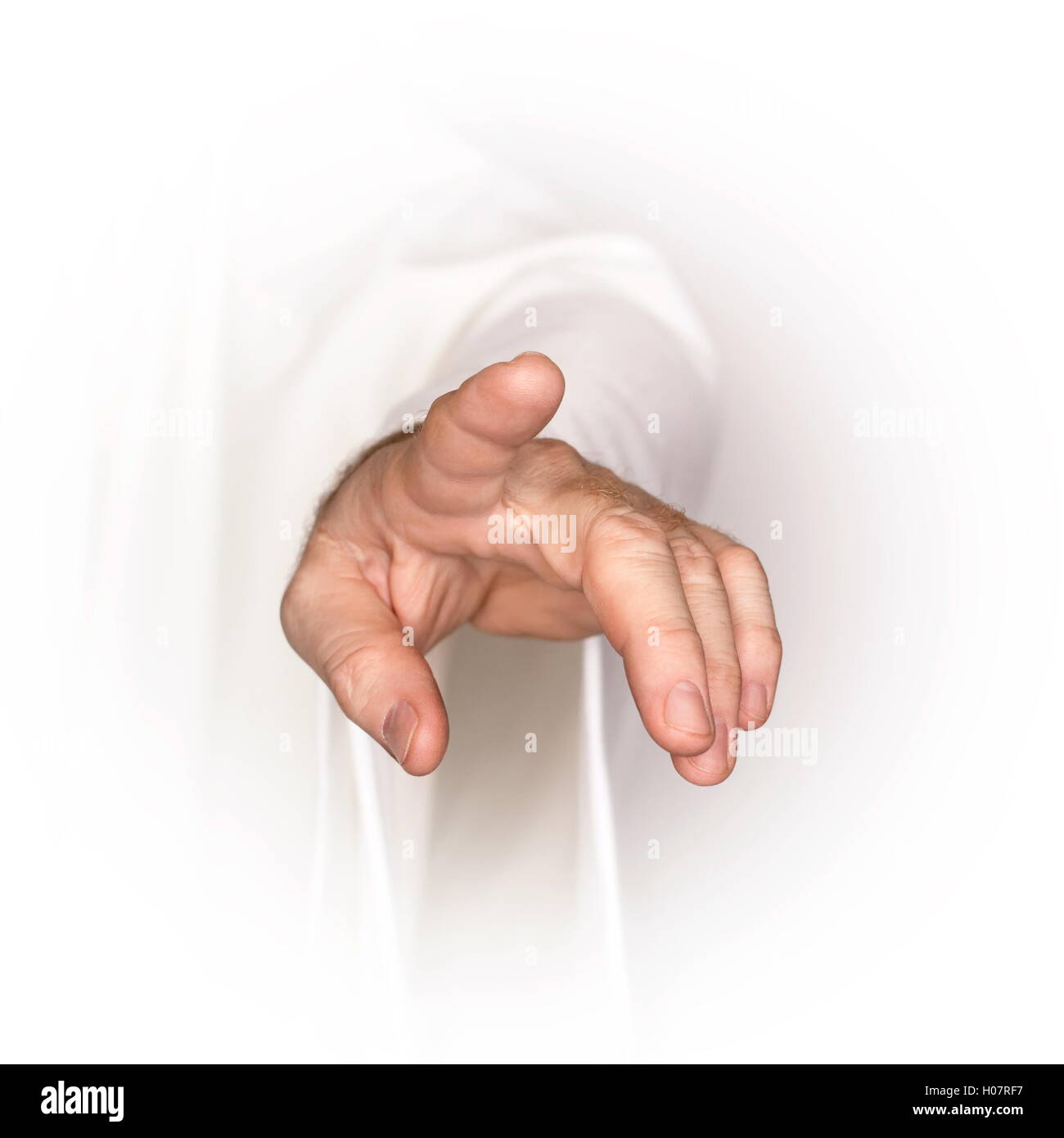 Showing towards you - Stock Image