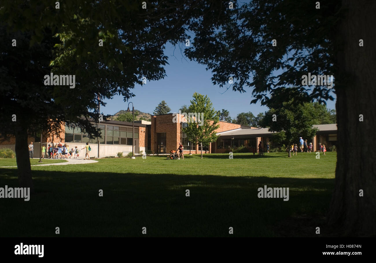 Foothill Elementary, Boulder, CO - Stock Image