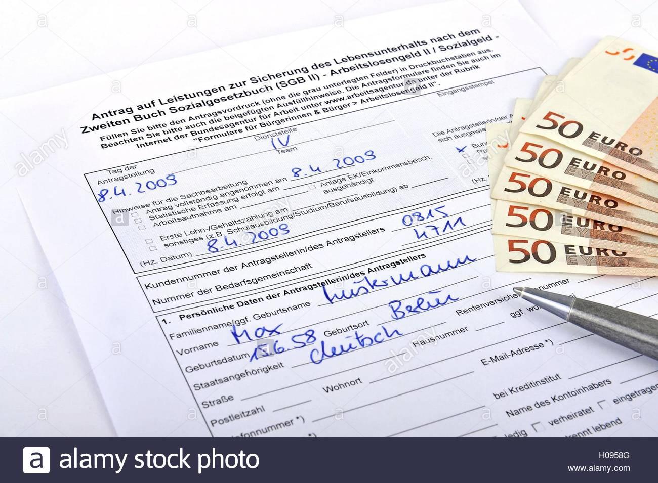Arbeitslosengeld 1 antrag