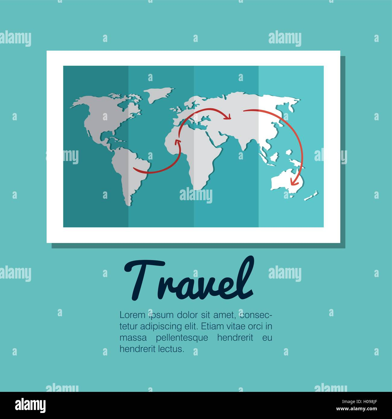 Map world globe travel design stock vector art illustration map world globe travel design gumiabroncs Choice Image