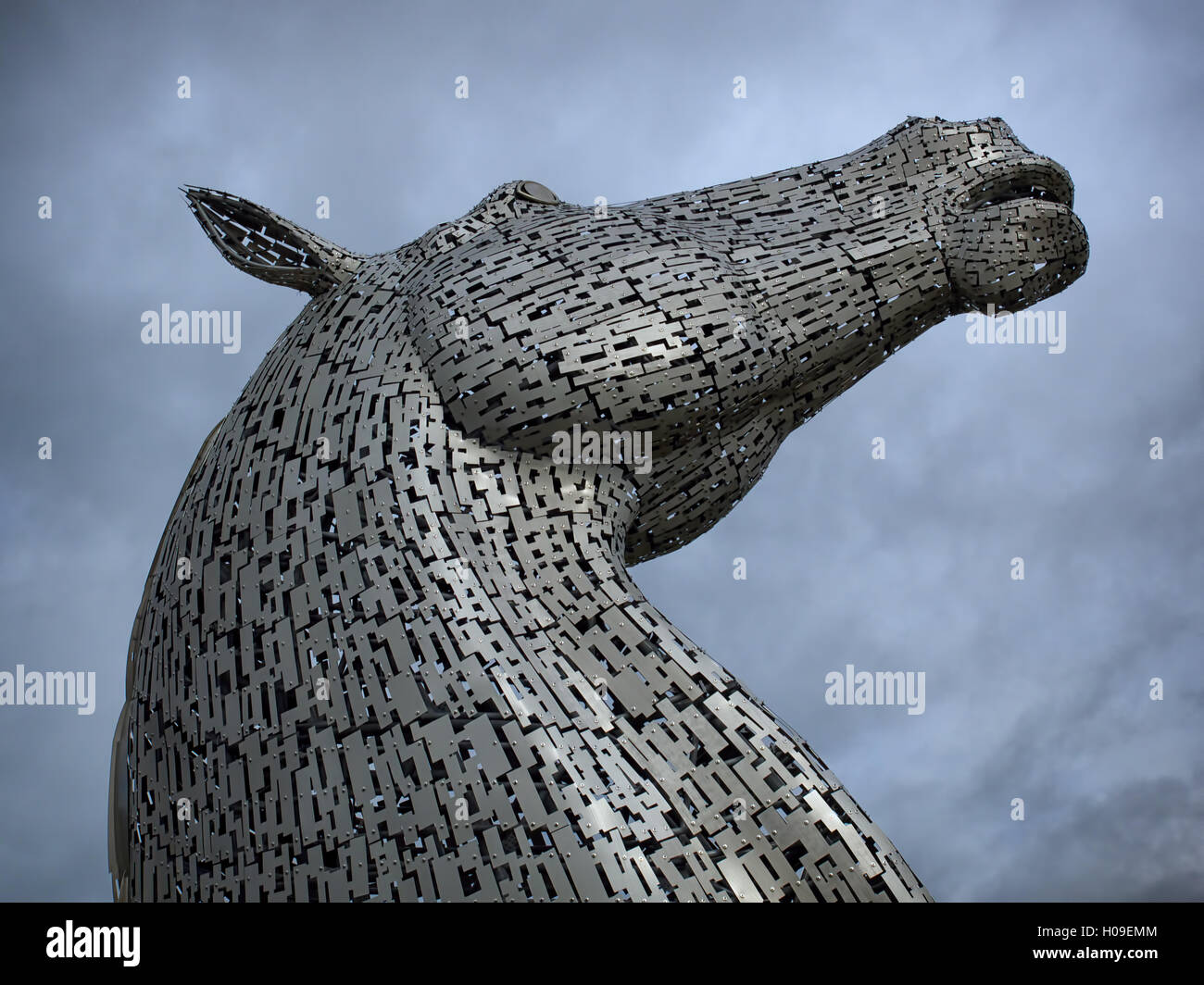 A Steel Horse Sculpture In High Resolution Stock Photography And Images Alamy