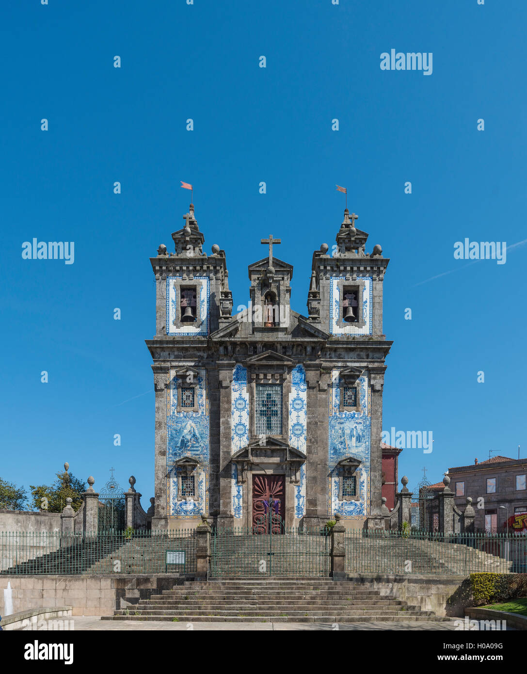 Igreja de Santo IIdefonso, church, Porto, Portugal - Stock Image