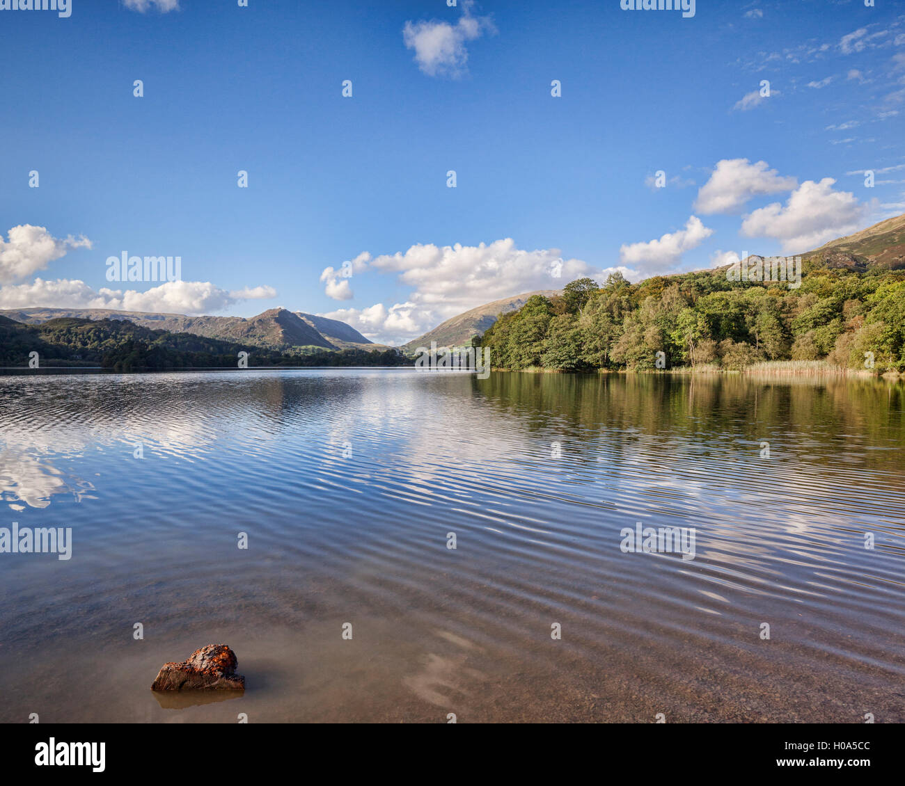 Grasmere, Lake District National Park, Cumbria, England, UK - Stock Image
