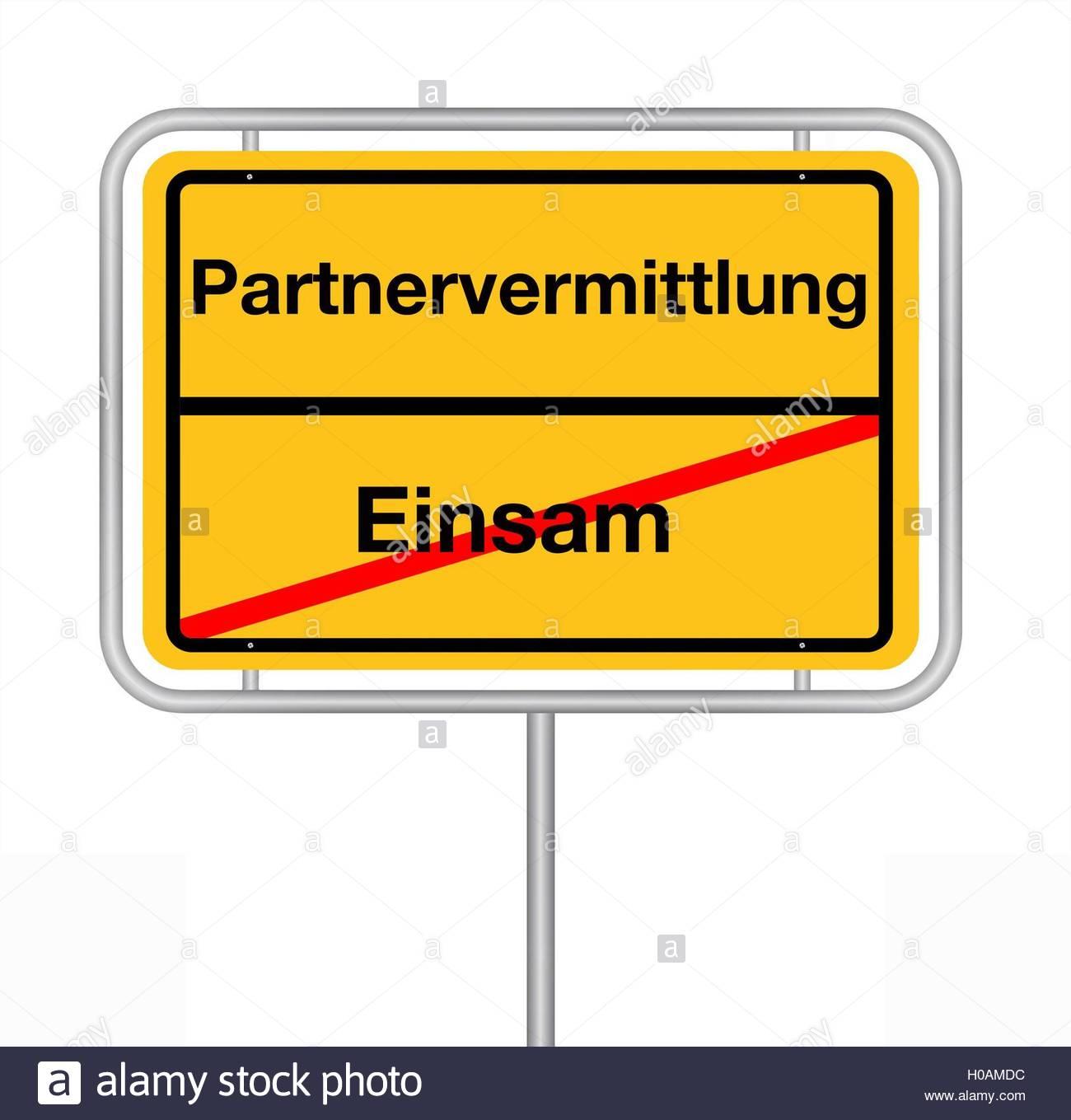 Partnervermittlung black and white