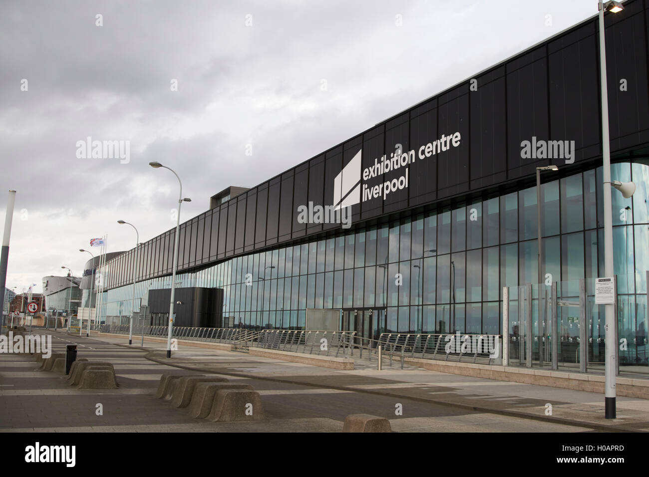 exhibition centre Liverpool Merseyside UK - Stock Image