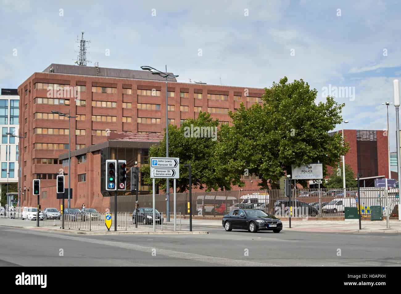 merseyside police headquarters hq Liverpool Merseyside UK - Stock Image