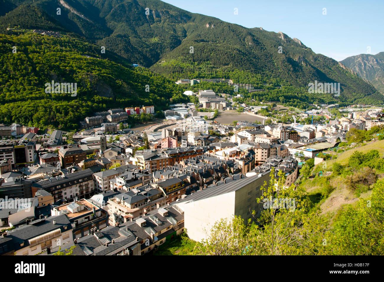 Andorra La Vella - Andorra - Stock Image