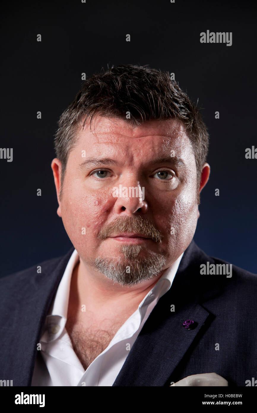 Neil Mackay, the British Irish investigative journalist, at the Stock Photo  - Alamy
