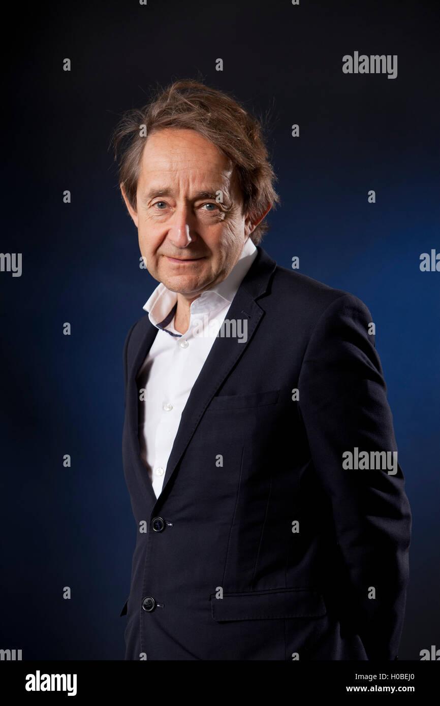 Sir Anthony Seldon, the political historian and commentator on British political leadership, at the Edinburgh International - Stock Image