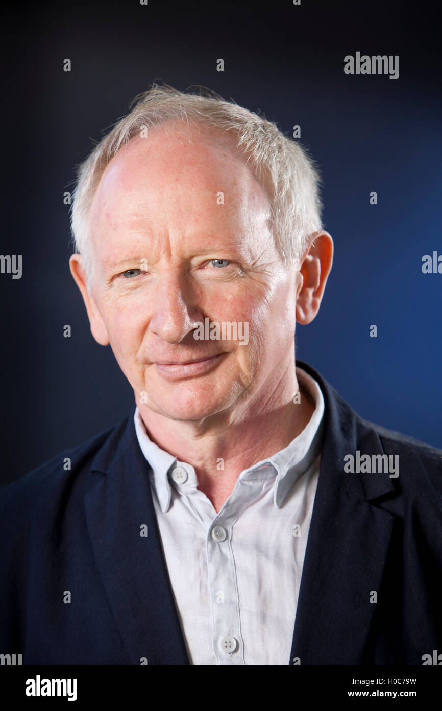 Alan Taylor, the Scottish journalist and author, at the Edinburgh International Book Festival. Edinburgh, Scotland. - Stock Image