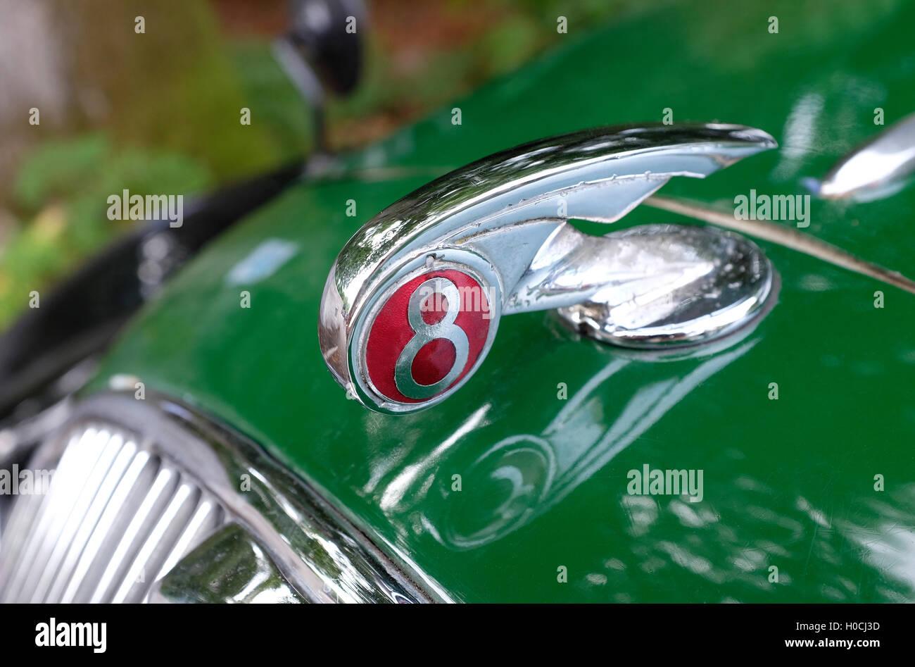 Car Bonnet Emblem Stock Photos & Car Bonnet Emblem Stock