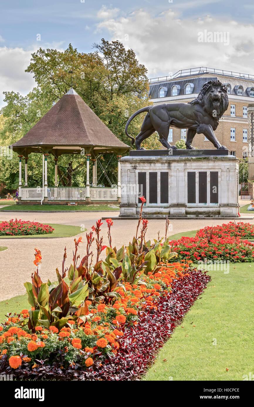 Forbury Gardens Reading Berkshire UK Stock Photo