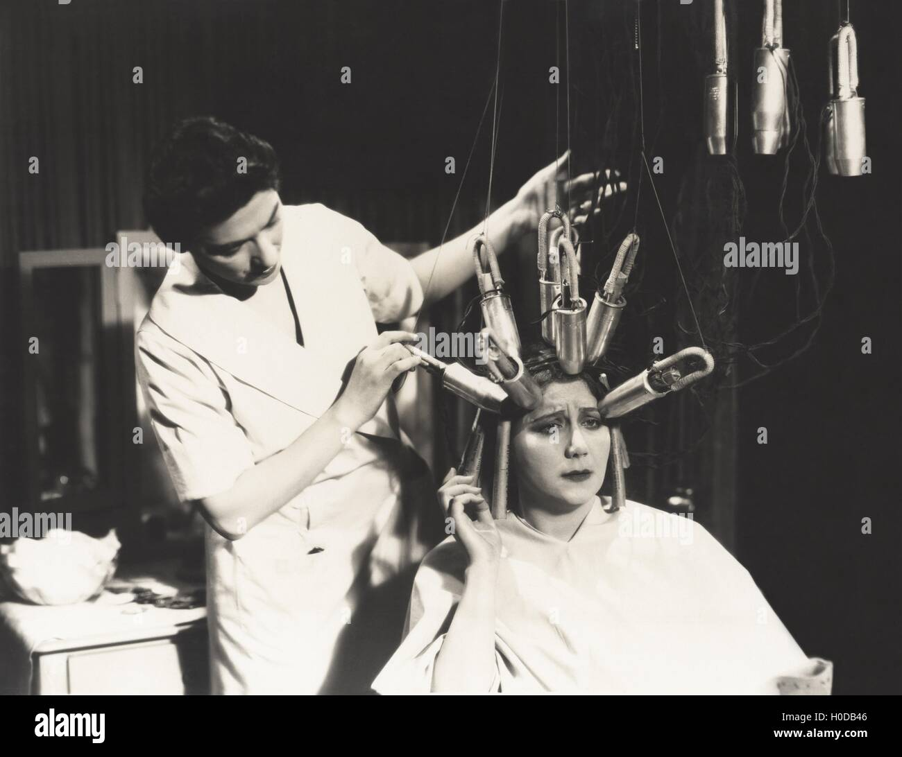 Permanent Waves - Stock Image