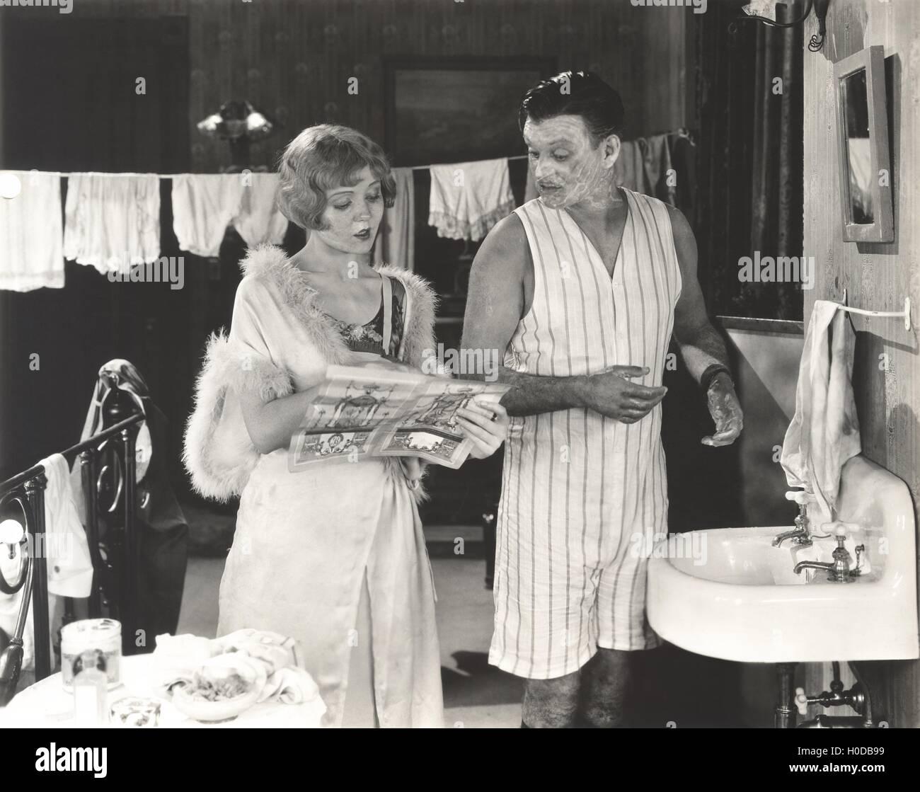 Washing up - Stock Image