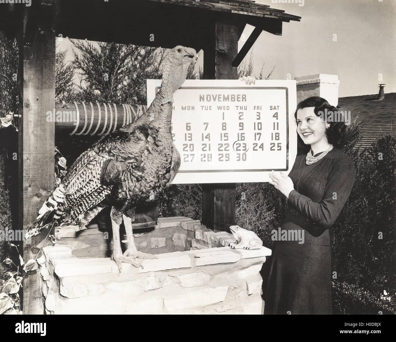 Surviving Thanksgiving - Stock Image