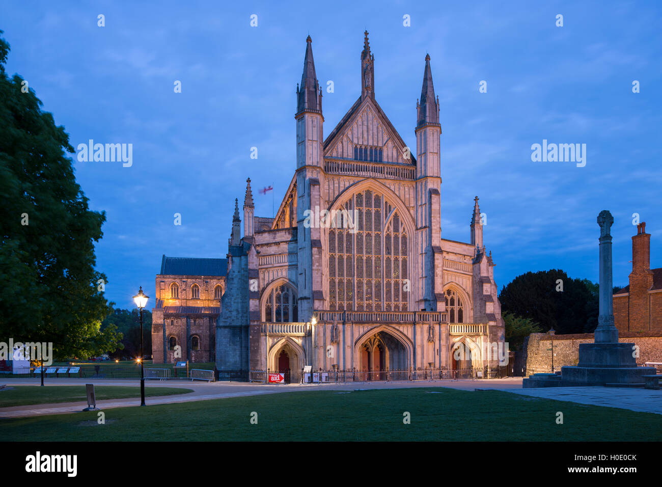 Winchester Cathedral. Winchester. Hampshire. England. UK - Stock Image