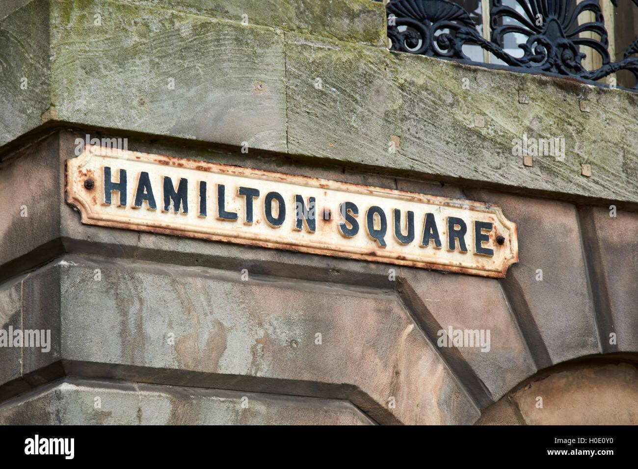 hamilton square birkenhead Merseyside UK - Stock Image