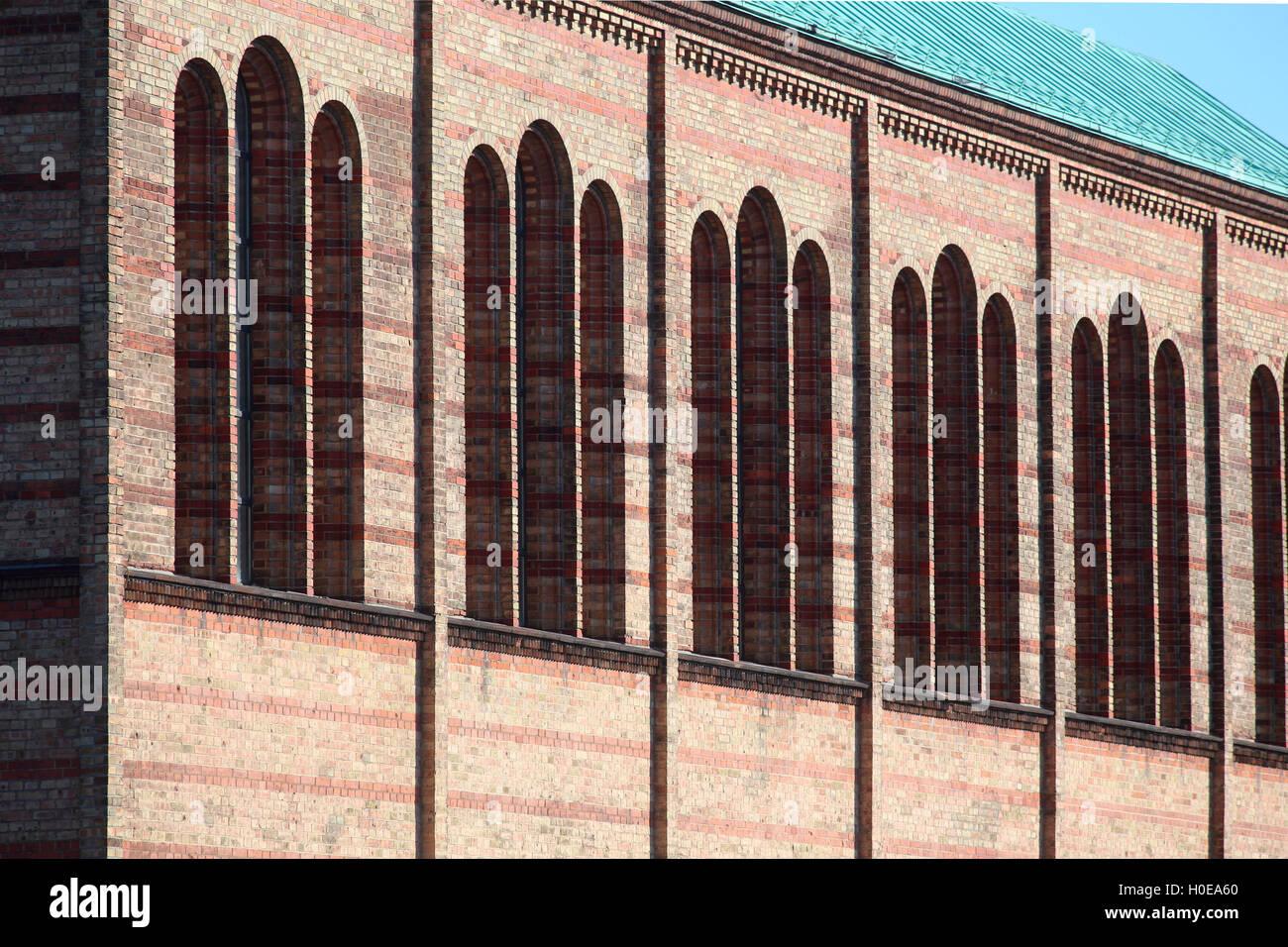 Berlin St. Matthäus Church Matthäikirchplatz Stock Photo