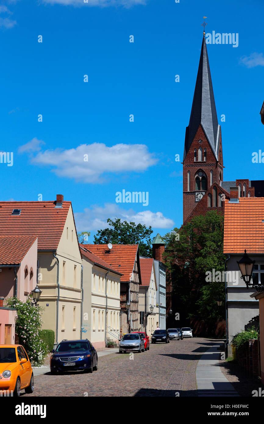 Neuruppin  Klosterkirche Sankt Trinitatis - Stock Image