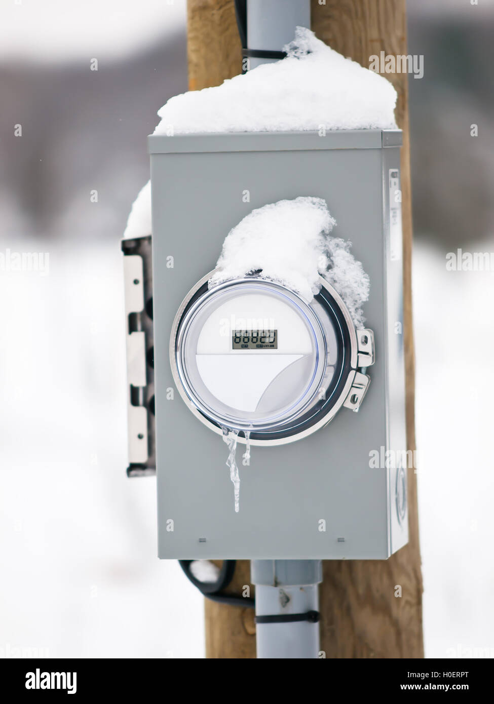 Electric Meter Box Stock Photos Images Fuse Holder Image
