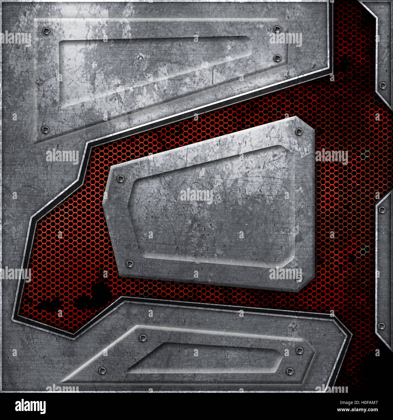 sci fi wall texture. Plain Wall Scifi Wall Rust Metal Wall And Red Mesh Background Texture 3d  Illustration Technology Concept Intended Sci Fi Wall Texture C