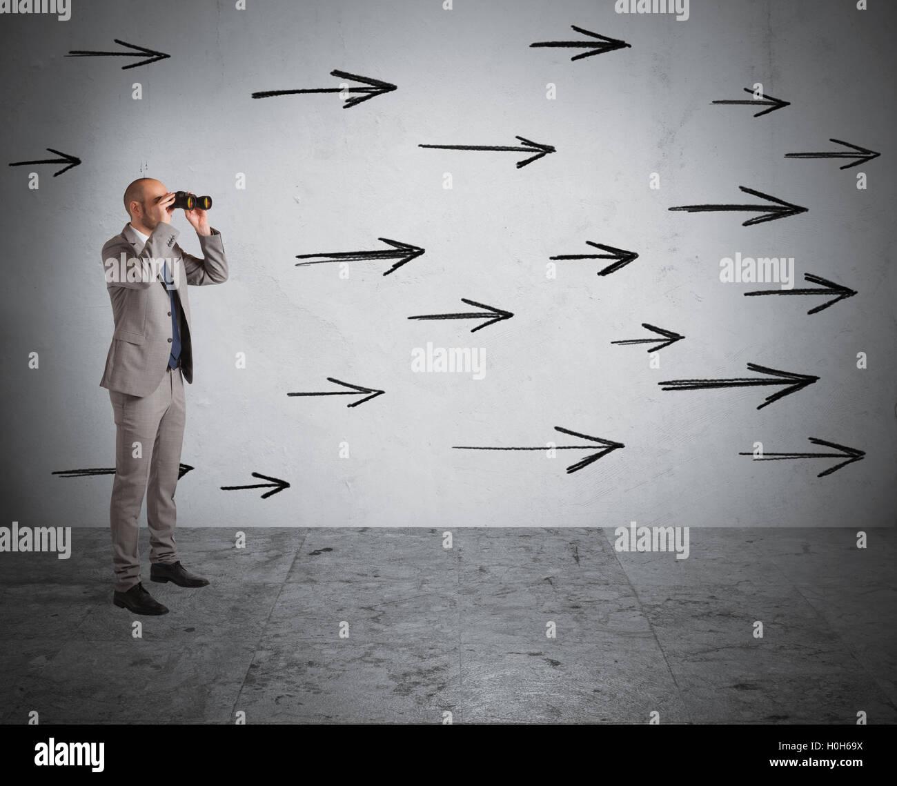 Look ahead - Stock Image