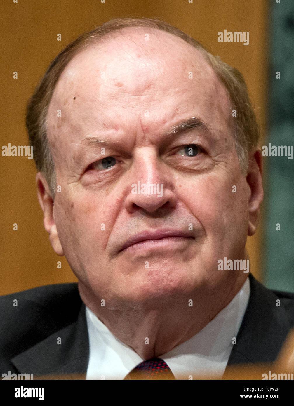 Washington, Us. 20th Sep, 2016. United States Senator Richard Shelby (Republican of Alabama), Chairman, US Senate Stock Photo