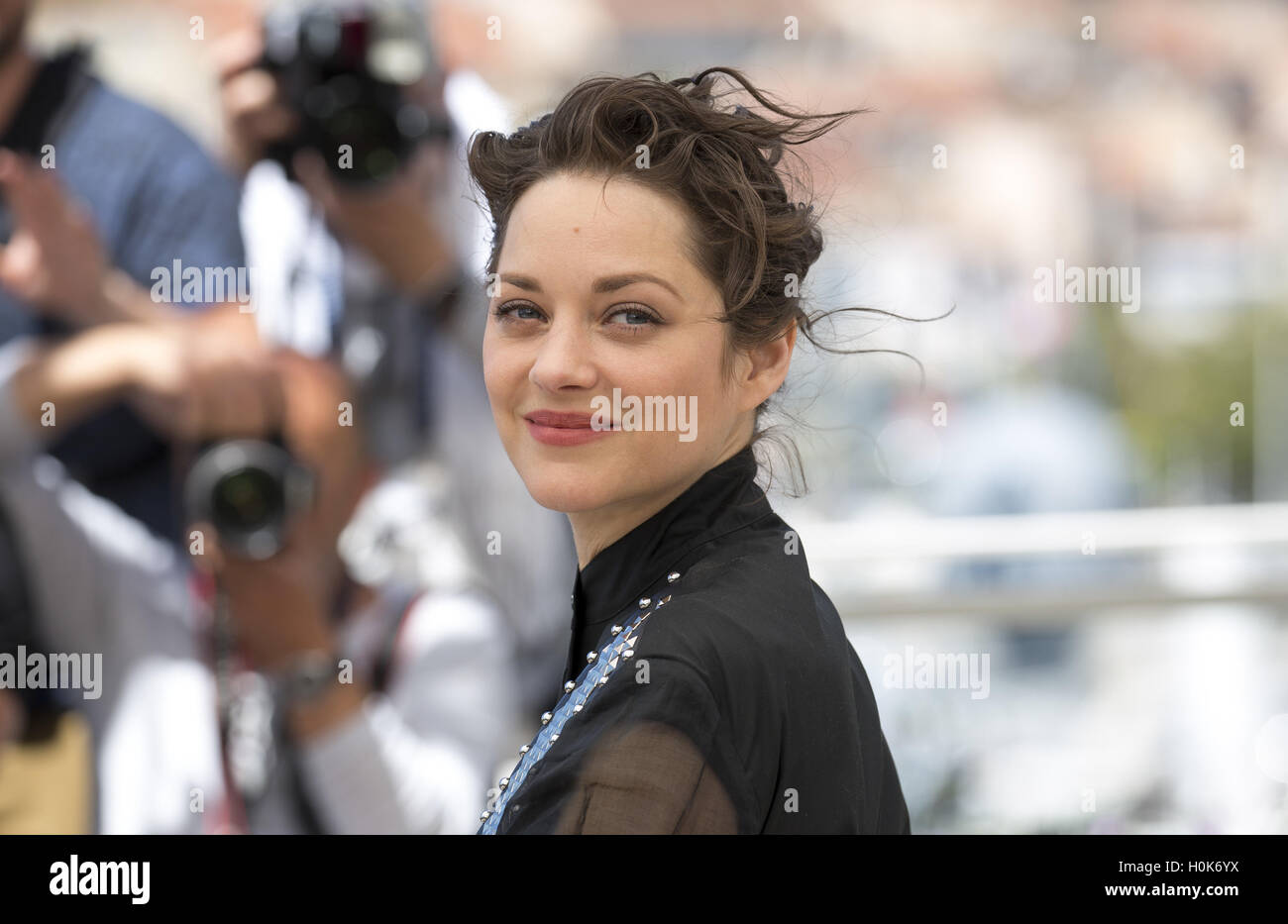 French Actress Marion Cotillard Attends The Photocall For
