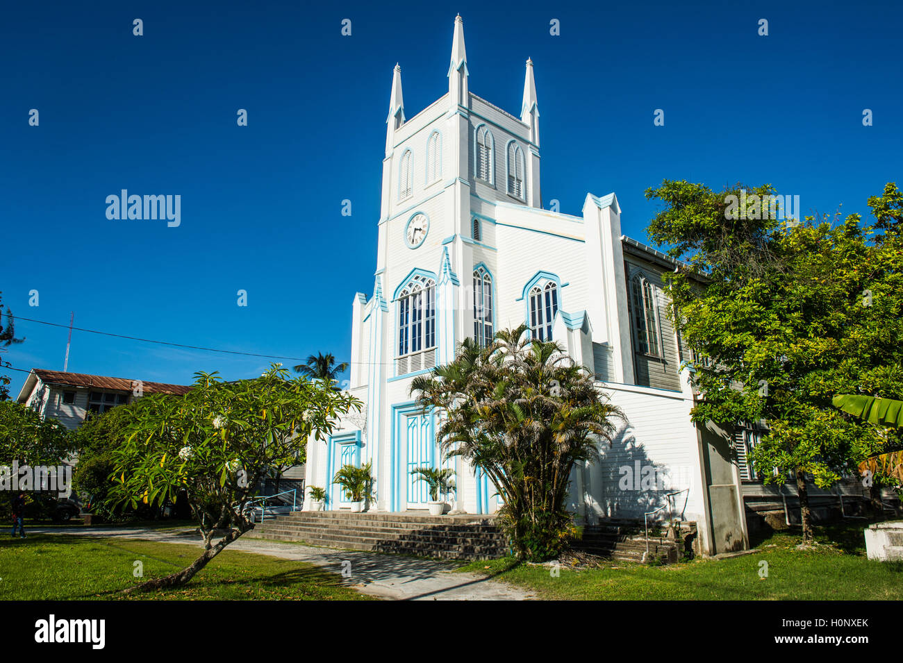 Christ Church, Georgetown, Guyana - Stock Image