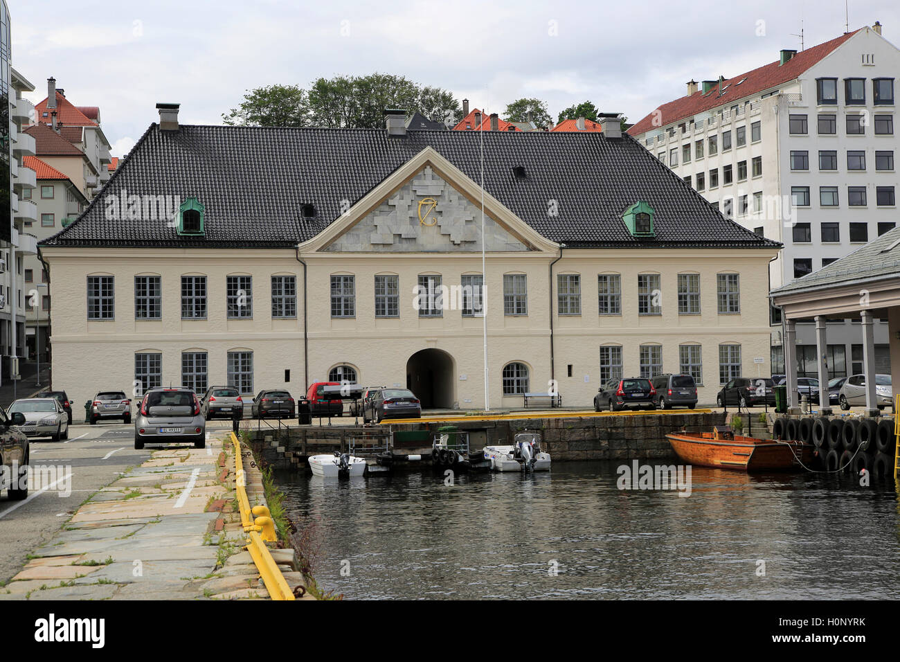 Old Custom House Building In Strandsiden Harbour Area City Of Stock Photo Alamy