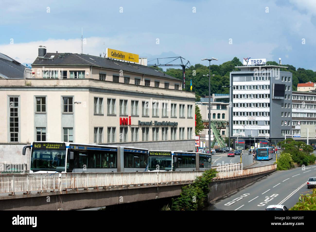 Deutschland, Nordrhein-Westfalen, Wuppertal-Elberfeld, Döppersberg