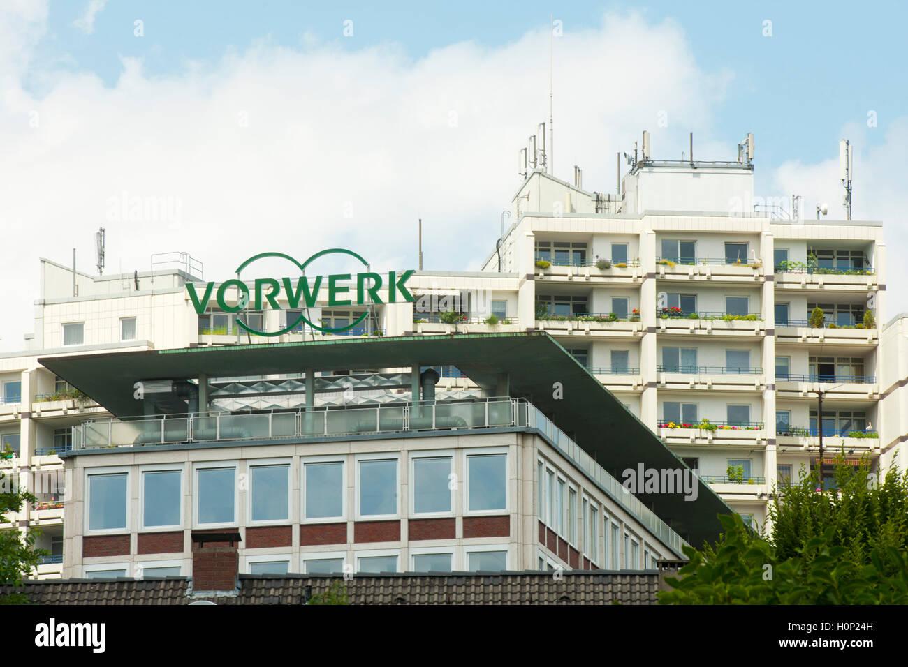 Deutschland, Nordrhein-Westfalen, Wuppertal-Barmen, Architektur, Gebäude der Firma Vohrwerk - Stock Image