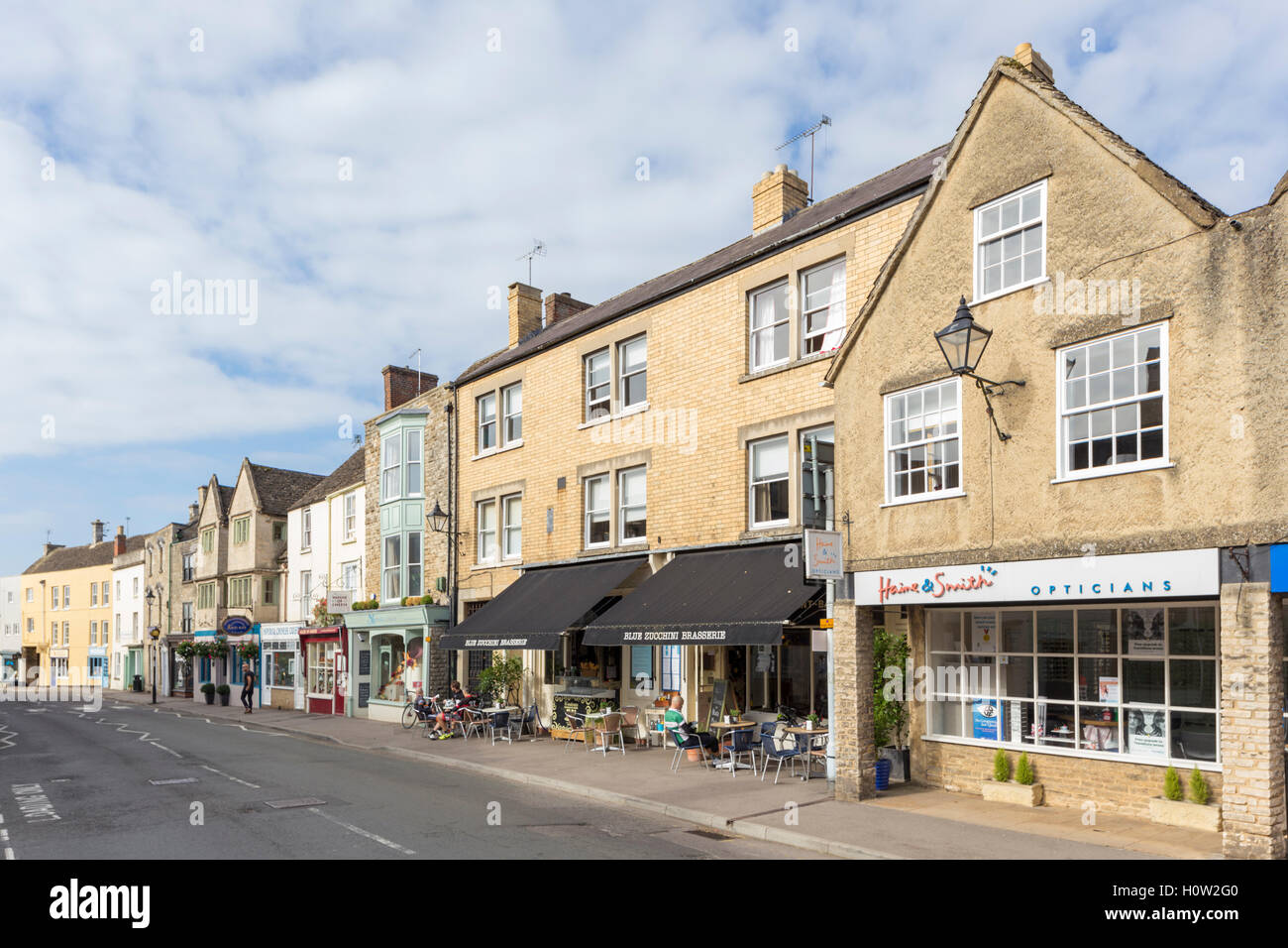 The Cotswold town of Tetbury, Gloucestershire, England, UK - Stock Image
