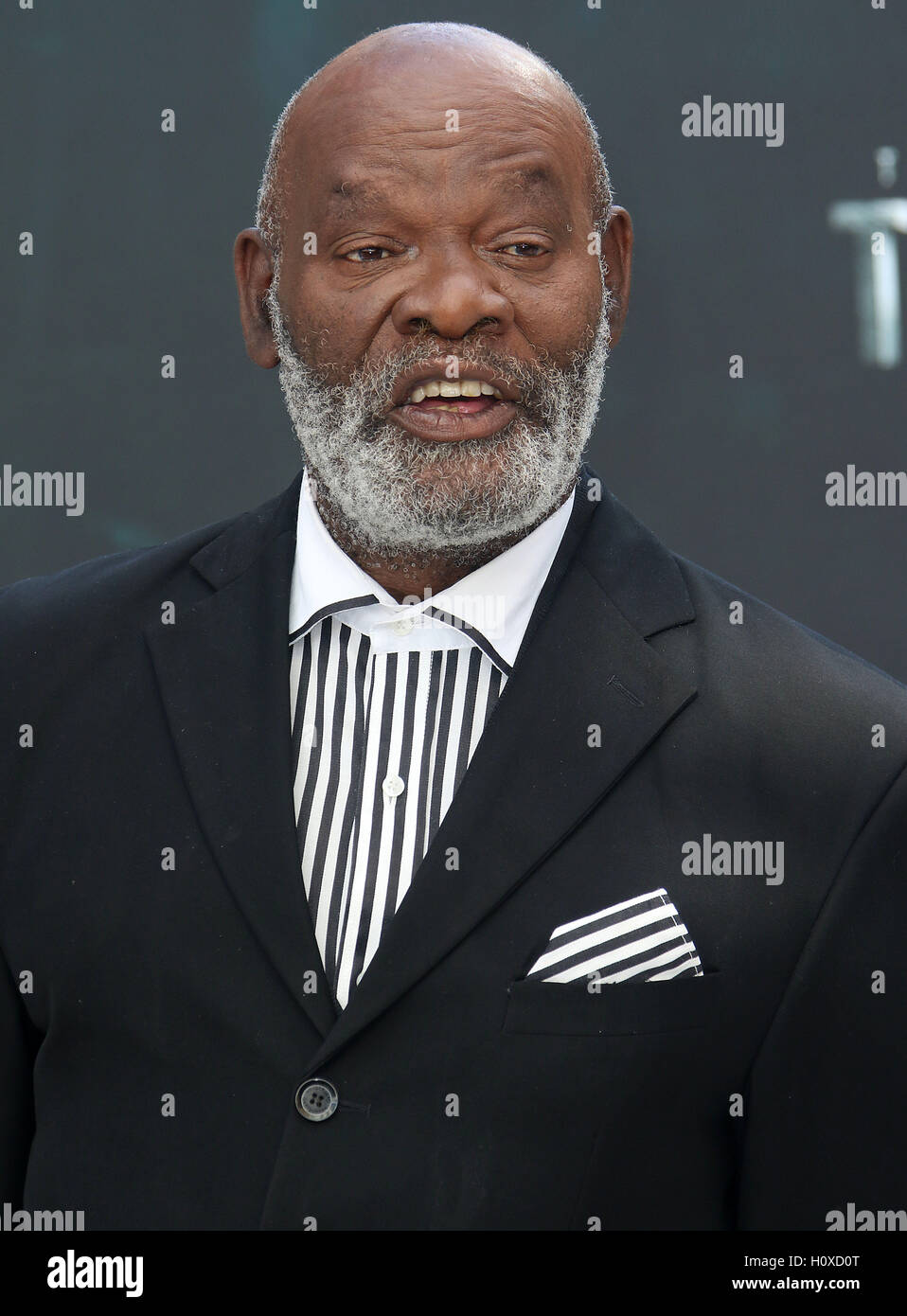 July 5, 2016 - Yule Masiteng attending 'The Legend Of Tarzan' European Premiere at Odeon, Leicester Square - Stock Image