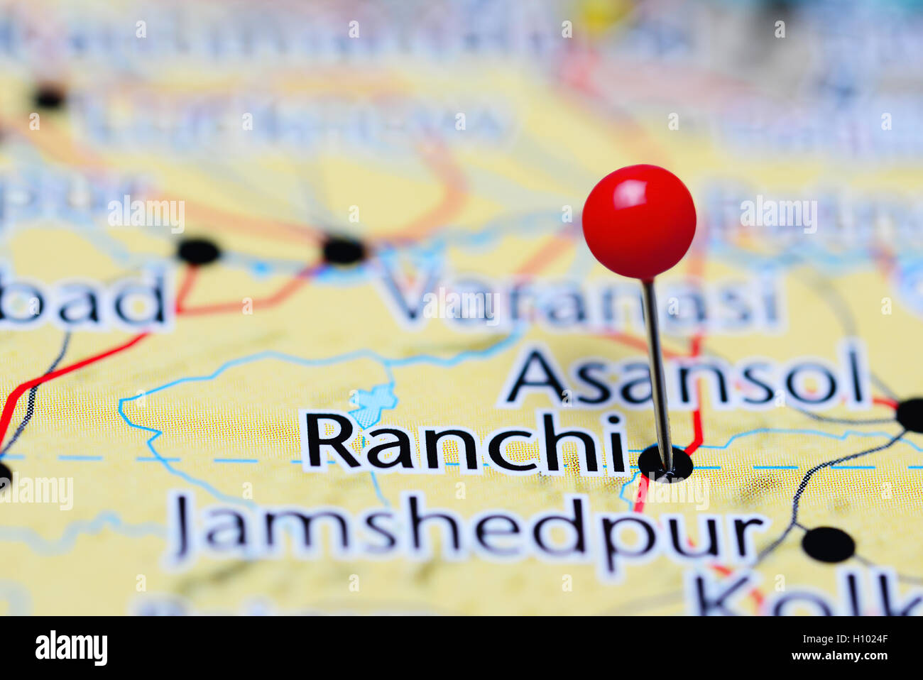 Location Of Ranchi In India Map.Ranchi City Stock Photos Ranchi City Stock Images Alamy