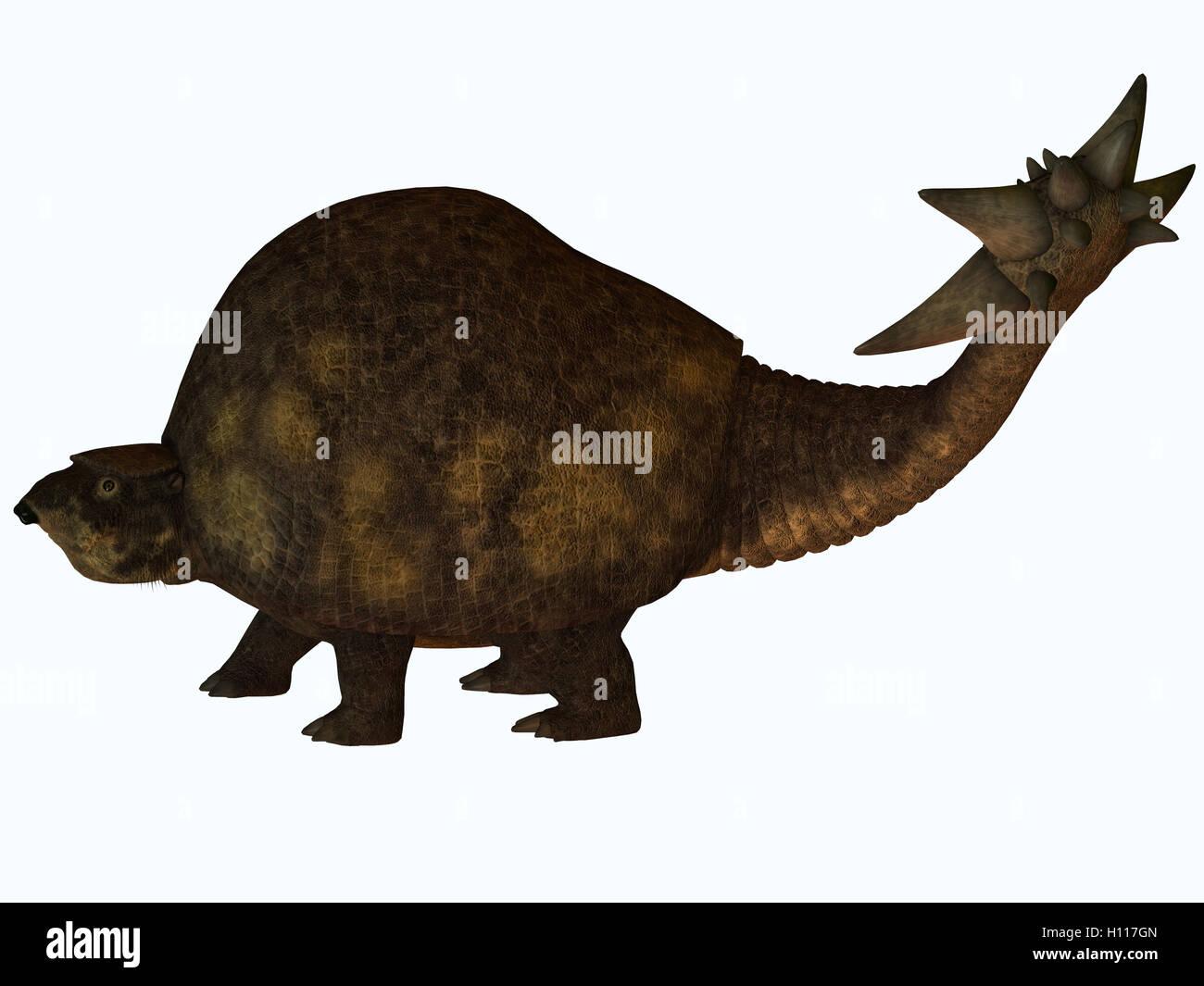 Glyptodont Profile - Stock Image