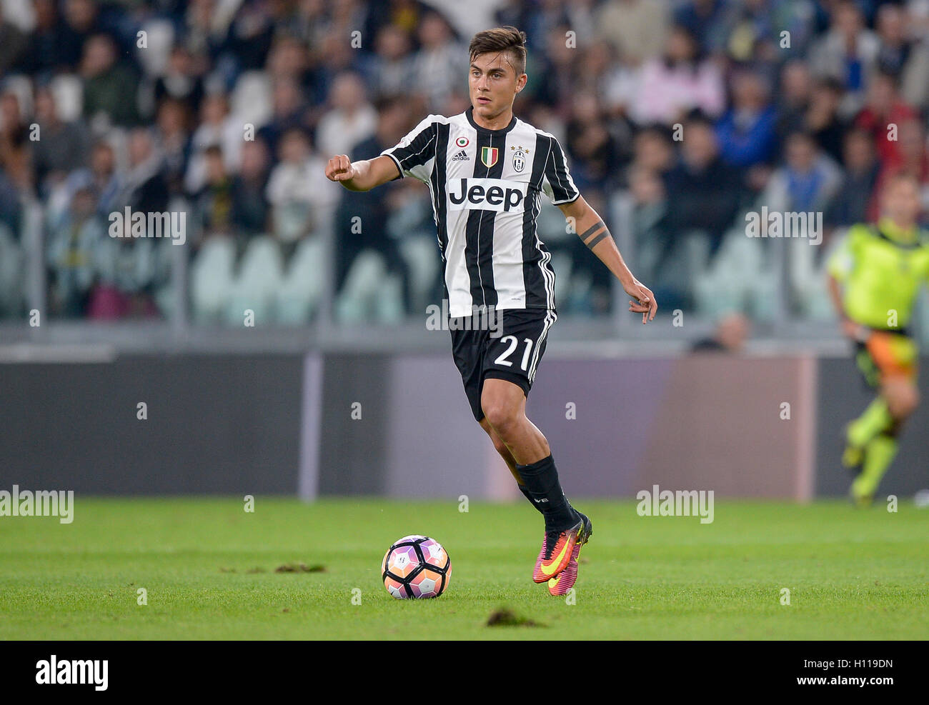 cec110188eb Turin, Italy. 21st Sep, 2016. Paulo Dybala of Juventus FC in action