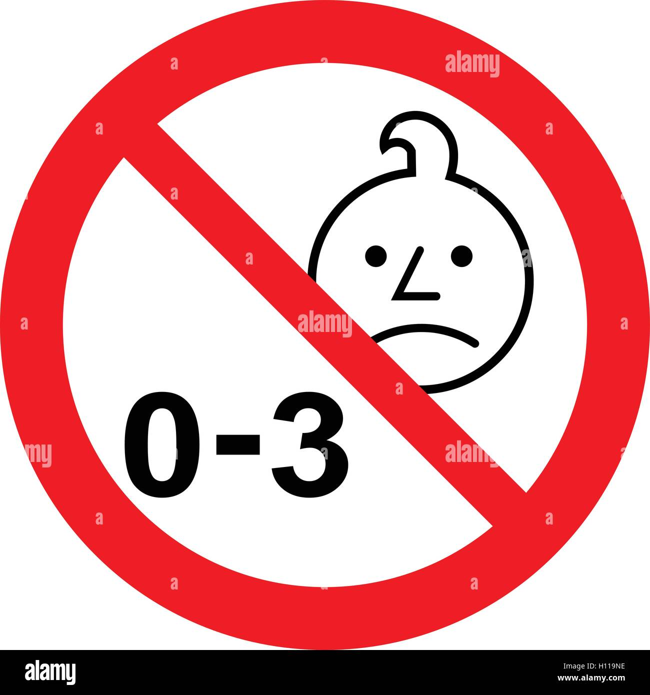 Not For Children Under 3 Years Sku: Not Suitable For Children Under 3 Years Symbol, Child