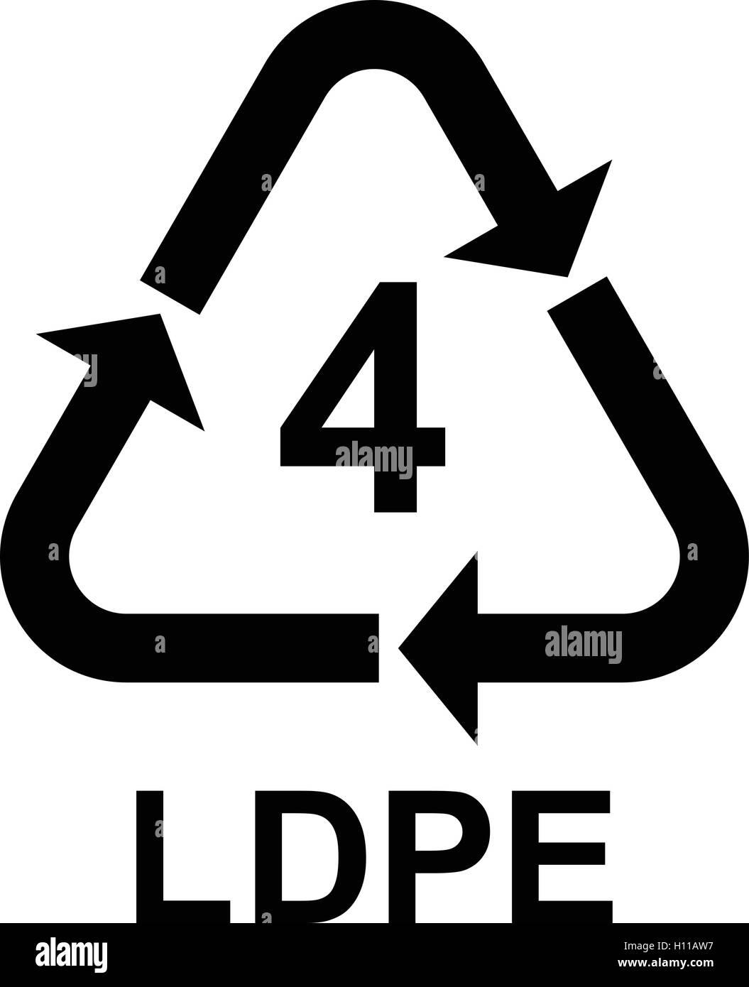 Plastic recycling symbol ldpe 4 plastic recycling code ldpe 4 stock plastic recycling symbol ldpe 4 plastic recycling code ldpe 4 vector illustration biocorpaavc Choice Image