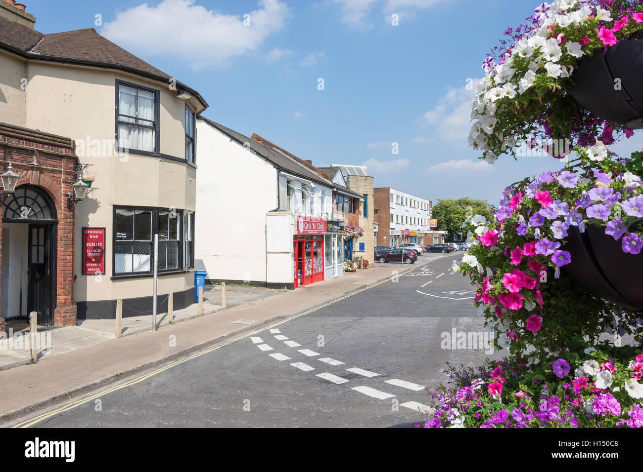 London Road, Blackwater, Hampshire, England, United Kingdom - Stock Image