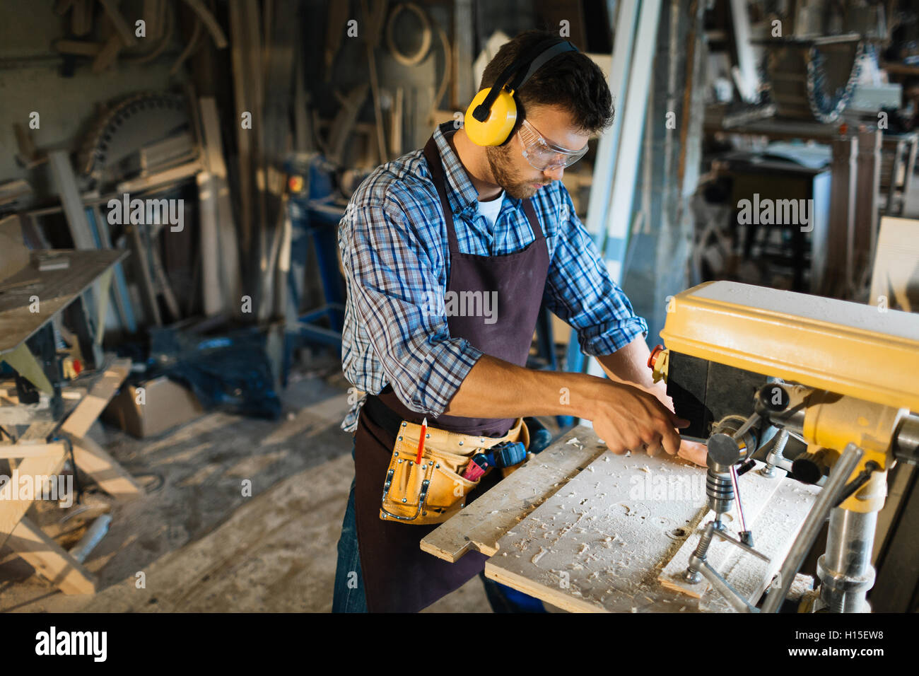 Woodworking - Stock Image