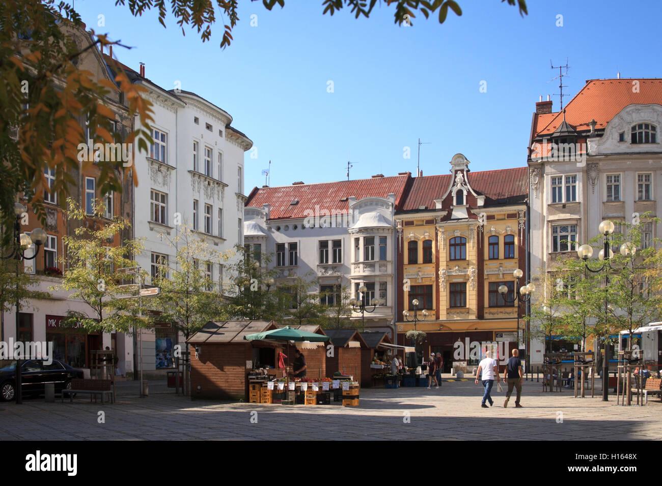 Jiraskovo Namesti, Ostrava. - Stock Image