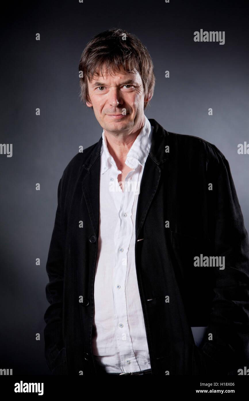 Ian Rankin, the Scottish crime writer,  at the Edinburgh International Book Festival. Edinburgh, Scotland. 16th - Stock Image