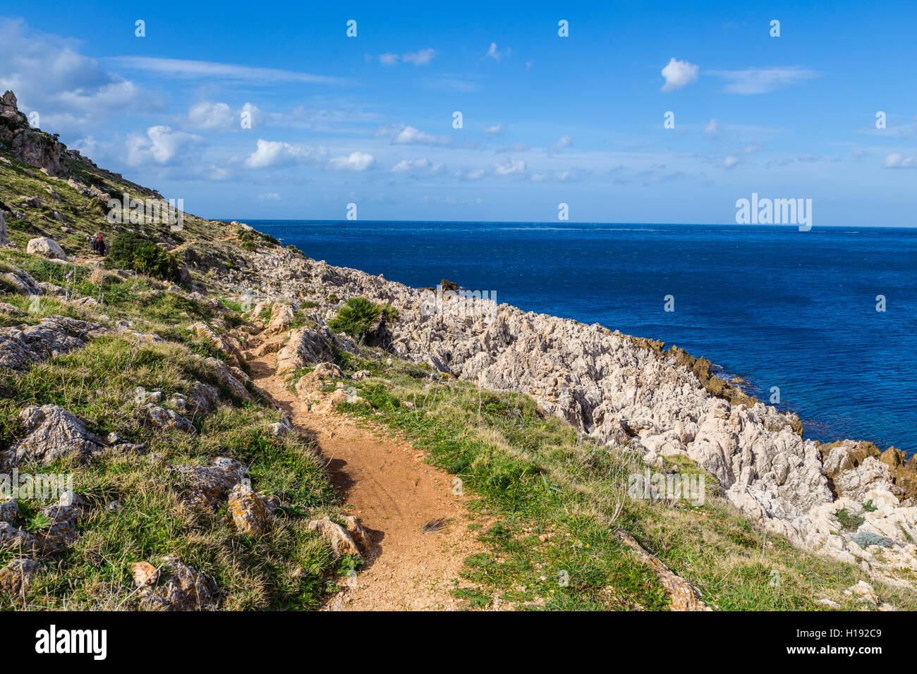 Riserva dello Zingaro, Sicily - Stock Image