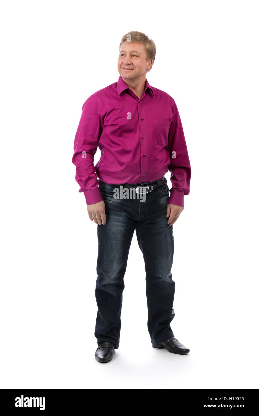 50 Year Old Man Cut Out Stock Images Pictures Alamy