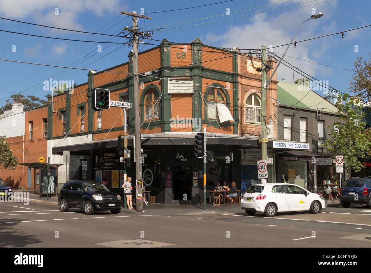 Cafe Foveaux Street Sydney
