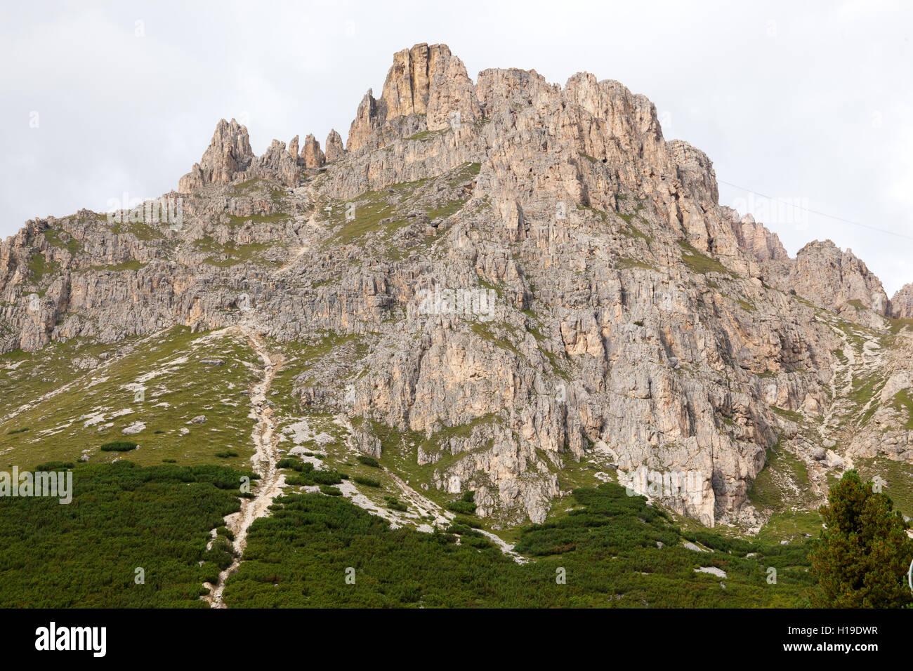Dolomites Mountains. - Stock Image