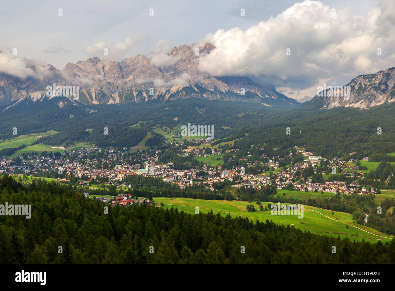 Dolomites Mountains. - Stock Image