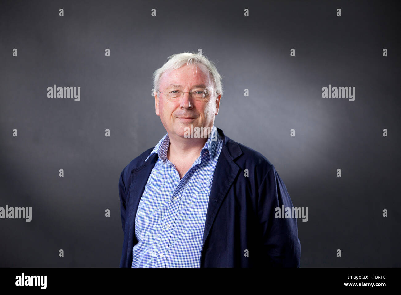 Richard Murphy, the British chartered accountant and political economist who campaigns on issues of tax avoidance - Stock Image