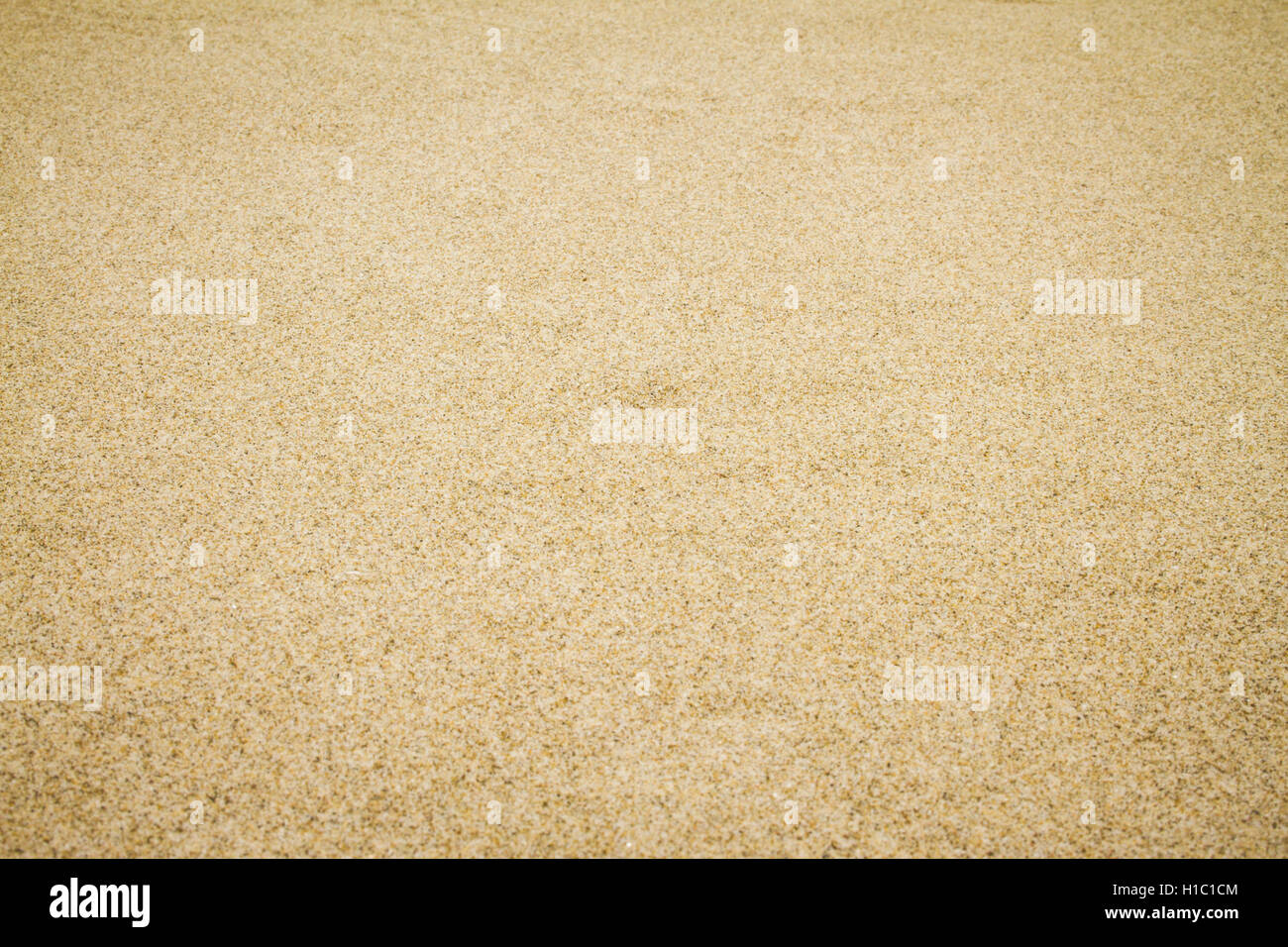 Natural brown sand background - Stock Image